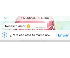 amor, chat, and mensajes de whatsapp image