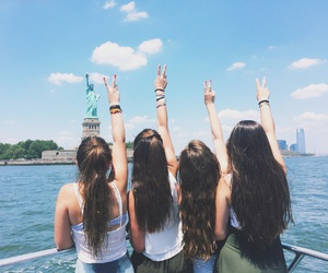 goals, hair, and new york image