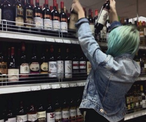 alcohol, hipster, and indie image