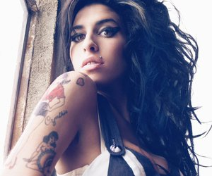Amy Winehouse, amy, and tattoo image