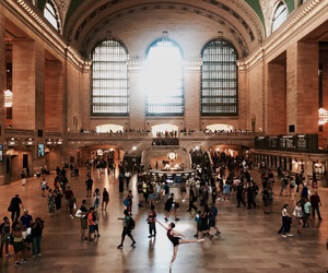 grandcentral, vscocam, and newyork image