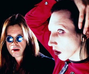 Marilyn Manson and ozzy image