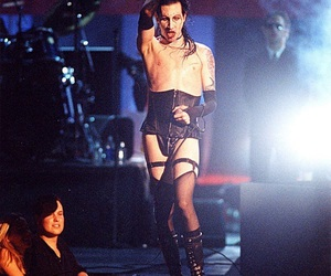 90s, rock, and manson image