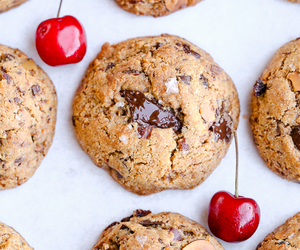 cherry, dessert, and sweet image