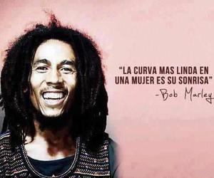 bob marley, smile, and frases image