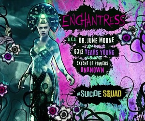 enchantress and suicide squad image