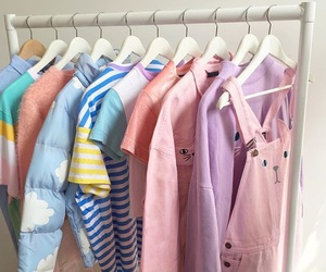 clothes, pastel, and pink image