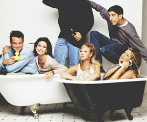 friends, f.r.i.e.n.d.s, and tv show image