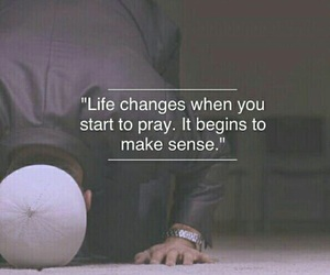 change, prayer, and islam image