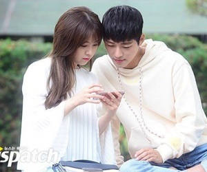 cute couple, bang minah, and nam goong min image