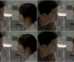dots, descendants of the sun, and kdrama image