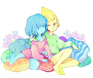 gems, love, and pearl image