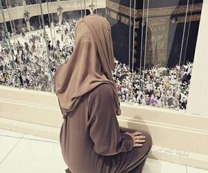 hijab, beautiful, and mecca image