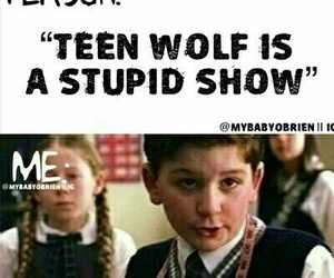teen wolf and funny image
