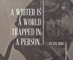 writer, quotes, and victor hugo image