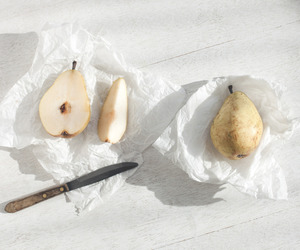 food, fruit, and pear image