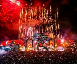 tomorrowland, music festival, and festival image