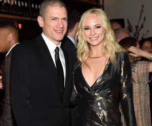 candice accola and wentworth miller image