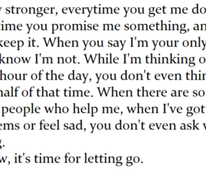ex, let go, and quotes image