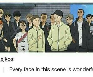 karasuno, funny, and haikyuu!! image