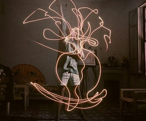 light, art, and picasso image
