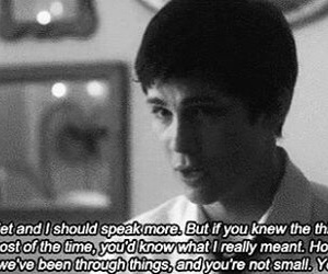 logan lerman, quotes, and the perks of being a wallflower image