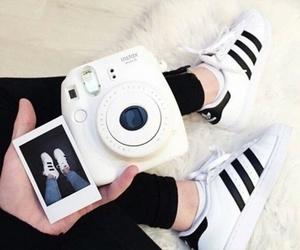 adidas and polaroid image