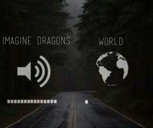 music, world, and imagine dragons image