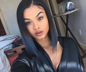 hair, india westbrooks, and makeup image