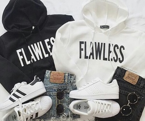fashion, adidas, and flawless image