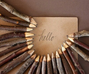 hello, nature, and writings image