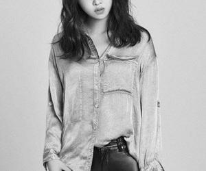 korean girl, photoshoot, and minzy gong image
