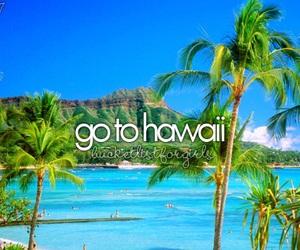 hawaii, before i die, and beach image