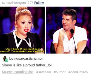 funny, demi lovato, and proud image