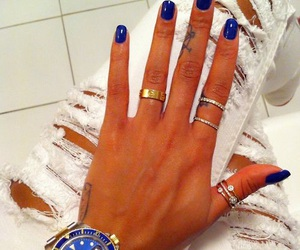 blue, wow, and fashion image