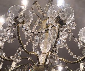 chandelier, beautiful, and diamond image