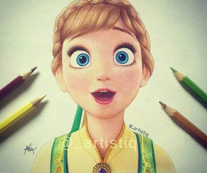 frozen, drawing, and art image
