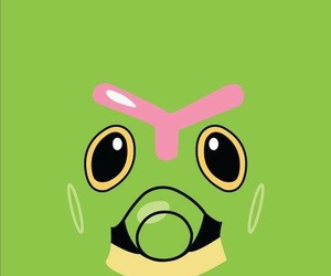 wallpaper, pokemon, and caterpie image