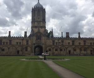 christchurch, oxford, and summer image