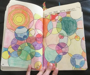circle, wreck this journal, and WTJ image