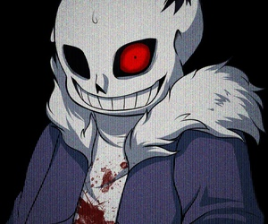 blood, megalovania, and undertale image