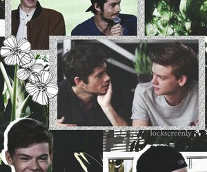 edit, newt, and the maze runner image
