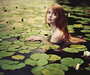 art, mermaid, and photography image
