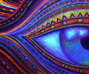 psychedelic and trippy image