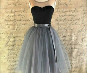 dress, black, and clothes image