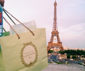 laduree, paris, and travel image
