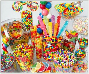 candy, colors, and eat image