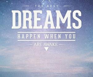 Dream, awake, and happiness image