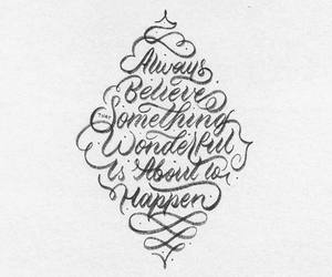 calligraphy, inspiration, and lettering image