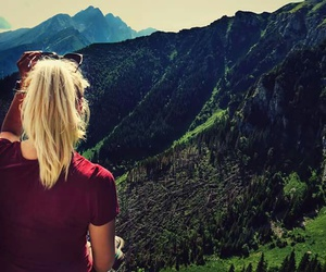 beauty, travel, and blond image
